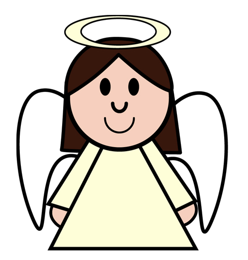 Nativity clipart for Angel clipart
